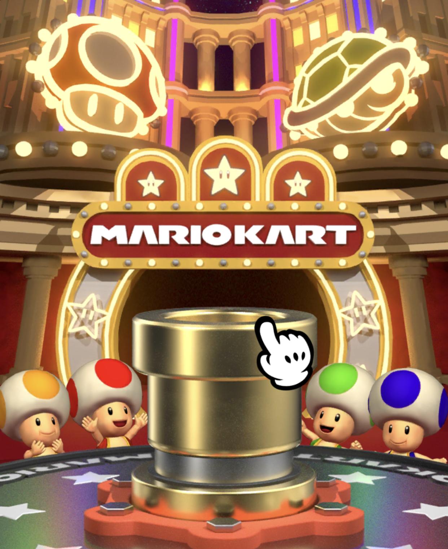 マリオカートツアー ゴールド土管