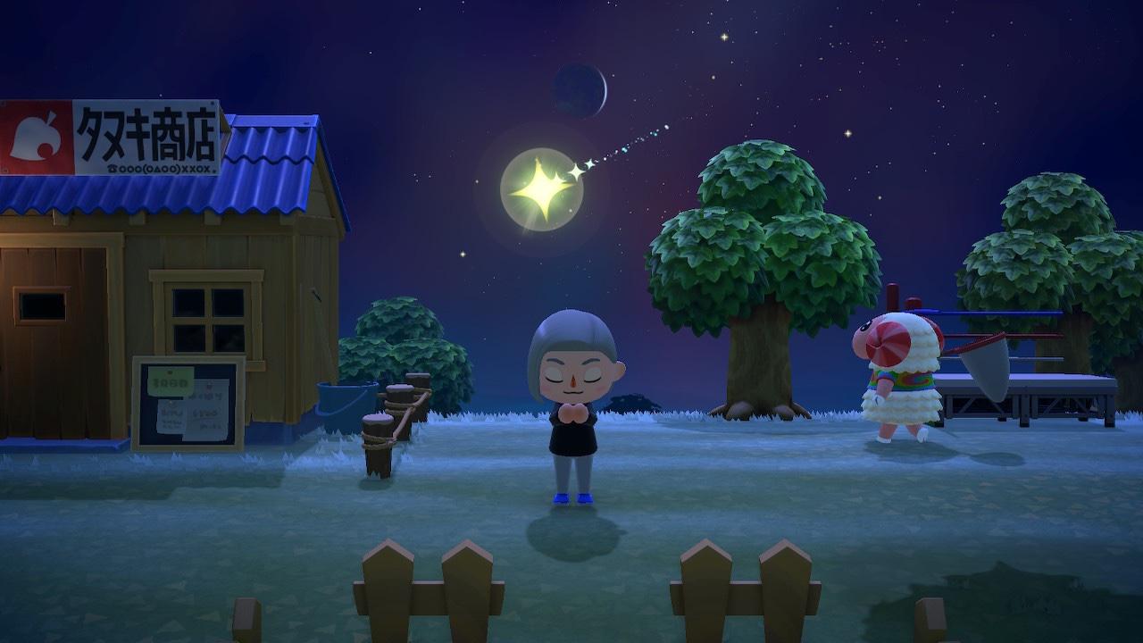 あつまれ どうぶつ の 森 流れ星 時間